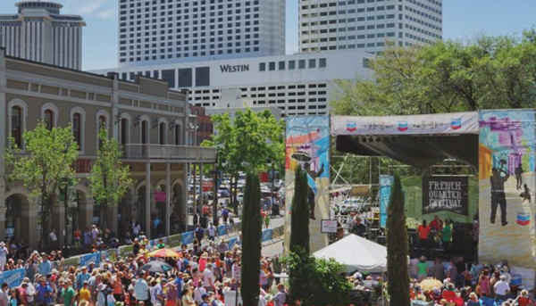 French Quarter Fest with the Best!
