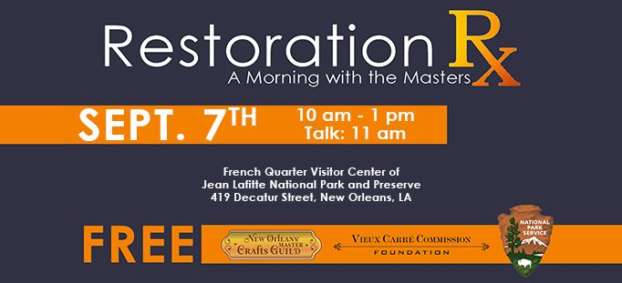 Restoration Rx: A Morning with the Masters – Rescheduled